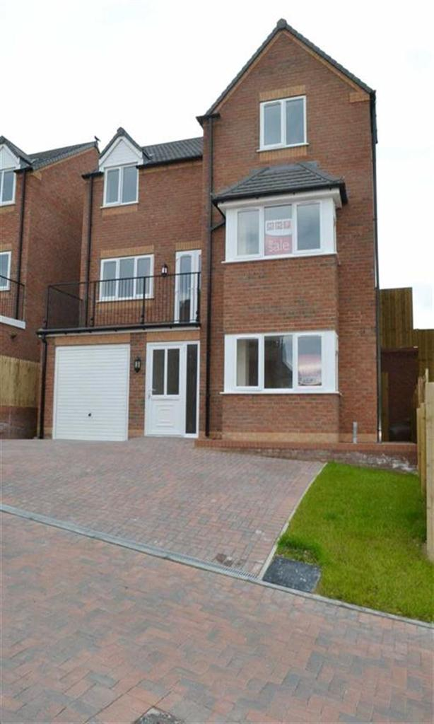 4 Bedrooms Detached House for sale in Plot 3 Brynmor Heights, Bryn Lane, Newtown, Powys, SY16