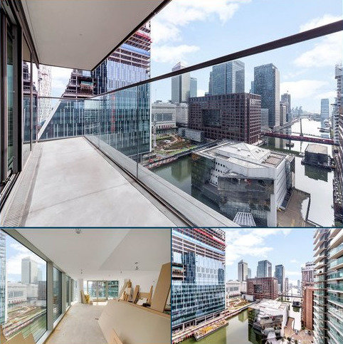 3 bedroom flat for sale - Landmark West Tower, 22 Marsh Wall, Isle Of Dogs, London, E14