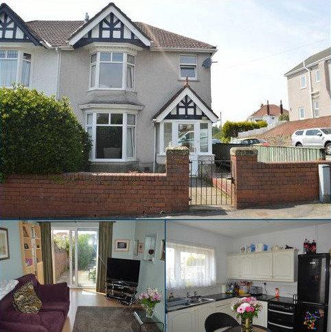 3 bedroom semi-detached house for sale - Carnglas Road, Swansea, SA2