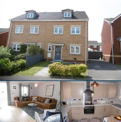 3 bedroom semi-detached house for sale - Parc Gilbertson , Gelligron, Pontardawe, Swansea.