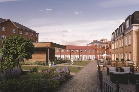 2 bedroom apartment for sale - Garden Square East, Apt 3, Hestercombe House, Dickens Heath, Solihull, B90 1UG