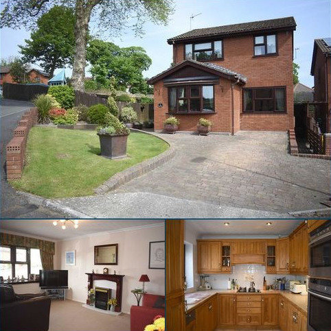4 bedroom detached house for sale - Llwynderw Close, West Cross, Swansea