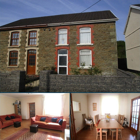 2 bedroom semi-detached house for sale - Rhiw Road, Rhiwfawr, Swansea.