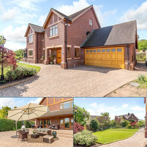4 bedroom detached house for sale - Falkland Park, Dorrington, Shrewsbury