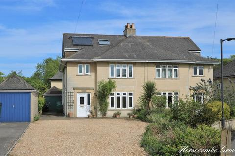 4 bedroom semi-detached house for sale - Horsecombe Grove, Combe Down, Bath