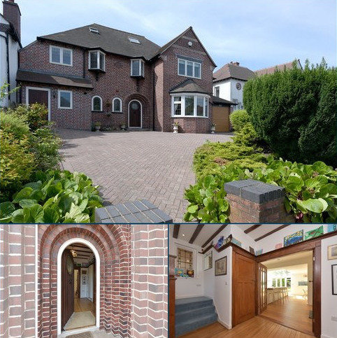 5 bedroom detached house for sale - Ravenhurst Road, Harborne, Birmingham, West Midlands, B17