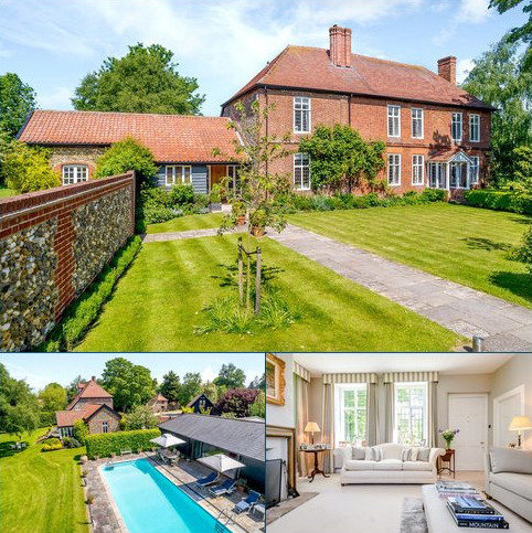 7 bedroom detached house for sale - The Street, Drinkstone, Bury St. Edmunds, Suffolk