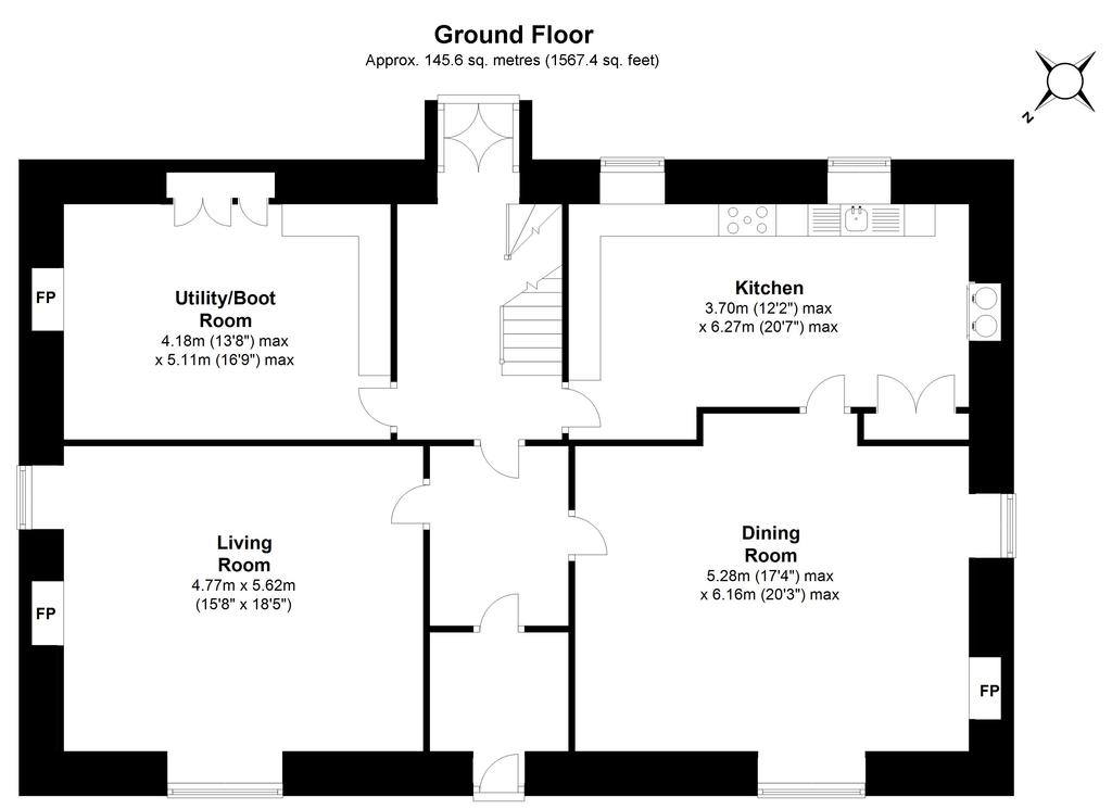Floorplan 2 of 3: The Old Rectory,...