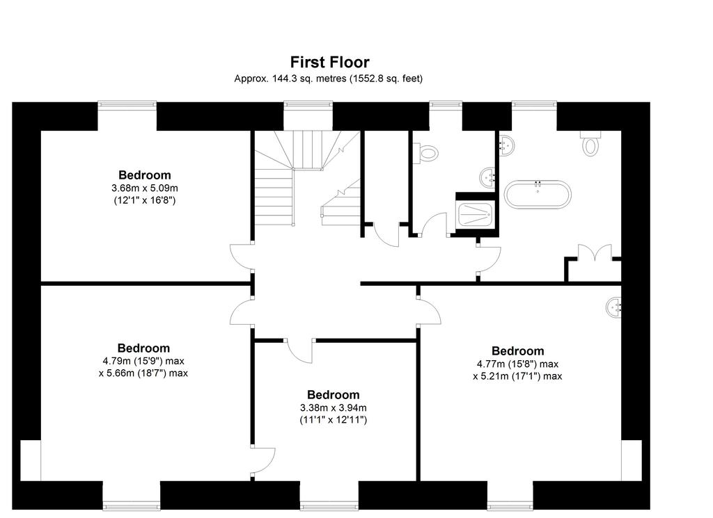 Floorplan 3 of 3: The Old Rectory,...