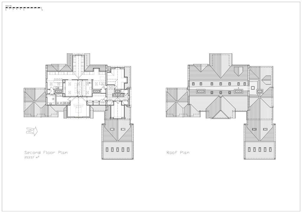 Second Floor & Roof