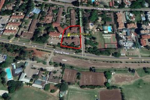 Plot  - Makindi Road Junction, Ngong Road, Nairobi