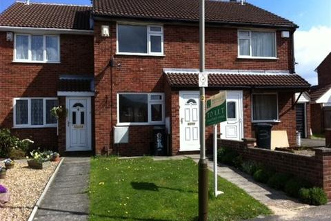 2 bedroom townhouse to rent - Barnsdale Road, Leicester LE4 1AX
