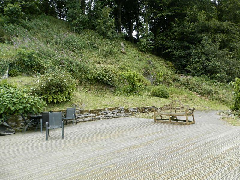Decking Area To Side