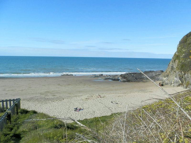 Tresaith Beach...