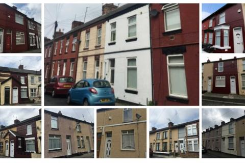 22 bedroom terraced house for sale - Portfolio of 11 terraced houses in L20/L21 area