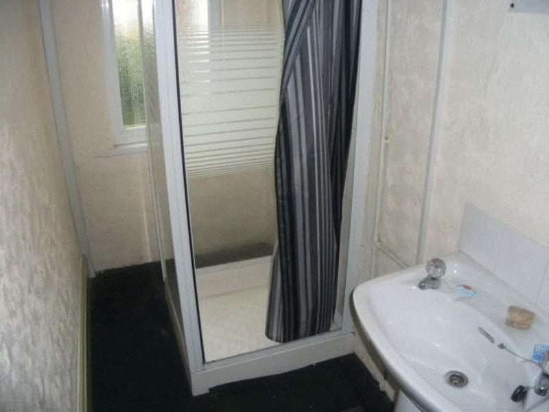 First floor shower