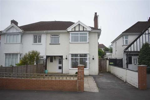 3 bedroom semi-detached house for sale - Moorside Road, West Cross, Swansea