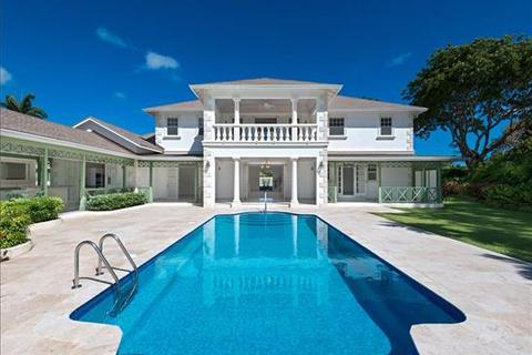 6 bedroom villa  - Sandy Lane, St James