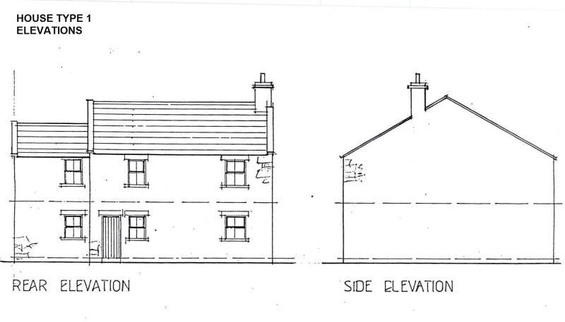 House Type 1 elevations for BROCHURE