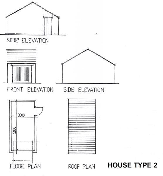 House Type 2 elevations to go with BROCHURE