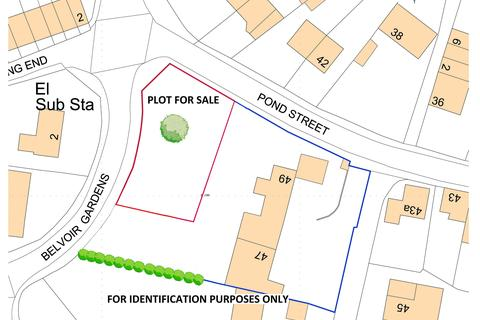 Plot for sale - Pond Street, Great Gonerby, Grantham NG31