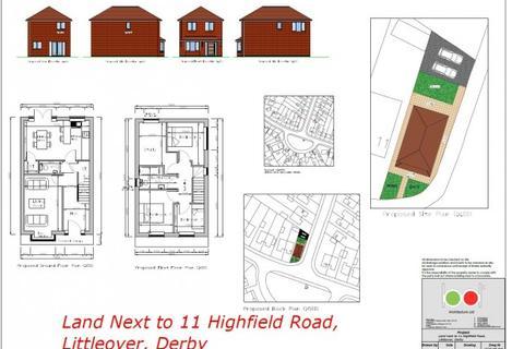 Land for sale - Highfield Road, Littleover, Derby, DE23