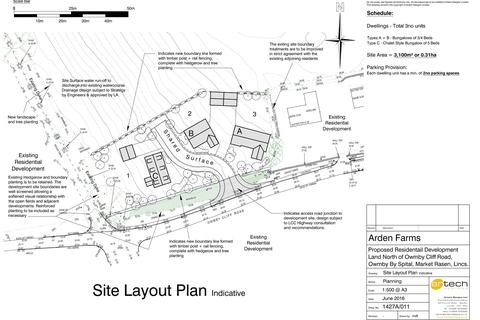 Land for sale - Building Plots, Owmby Cliff Road, Owmby-by-Spital, Market Rasen, LN8