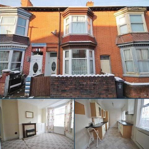 3 bedroom terraced house to rent - Bramley Road, West End, Leicester LE3