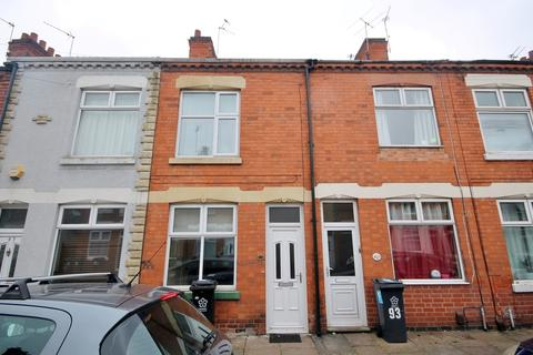 2 bedroom terraced house to rent - Stuart Street, West End, Leicester, LE3