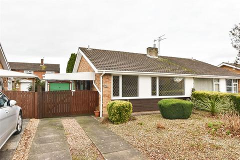 2 bedroom semi-detached bungalow for sale - Tedder Road, Foxwood, York
