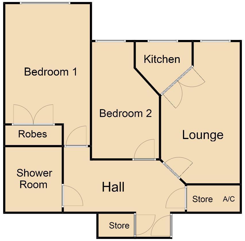 Floorplan: 34 croxall court.JPG