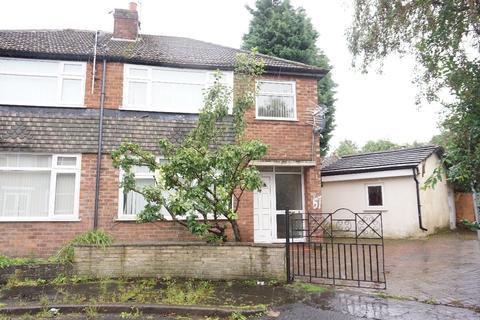 4 bedroom semi-detached house to rent - Park Range, Rusholme, Manchester, M14