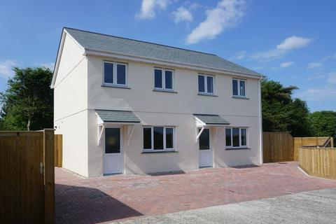 3 bedroom semi-detached house for sale - Week St Mary, Near Bude