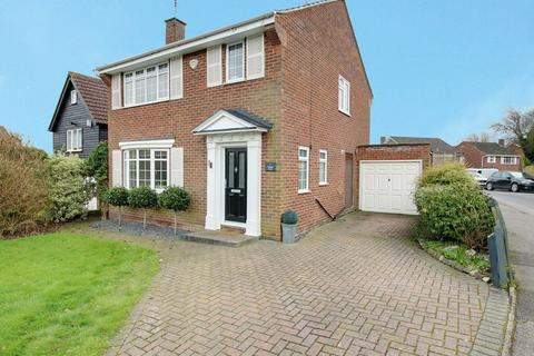 3 bedroom detached house for sale - Vicarage Close, Northaw