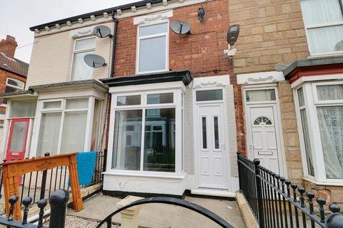 2 bedroom terraced house to rent - Carrington Avenue, Hull