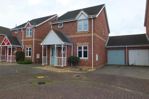3 bedroom detached house for sale - Rowan Close, Sleaford