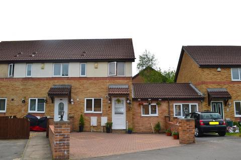 2 bedroom end of terrace house for sale - Templeton Way, Penlan, Swansea