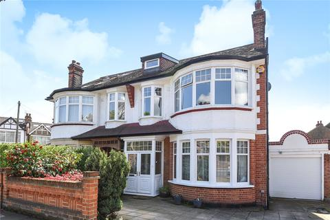4 bedroom semi-detached house for sale - Broomfield Lane, Palmers Green, London, N13