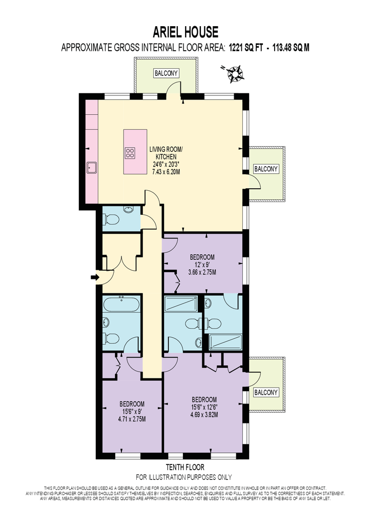 Ariel House, Vaughan Way, Wapping, London, E1W 3 bed flat - £4,983 on christmas story house floor plan, frodo baggins house floor plan, incredibles house floor plan, gatsby house floor plan, barbie house floor plan,