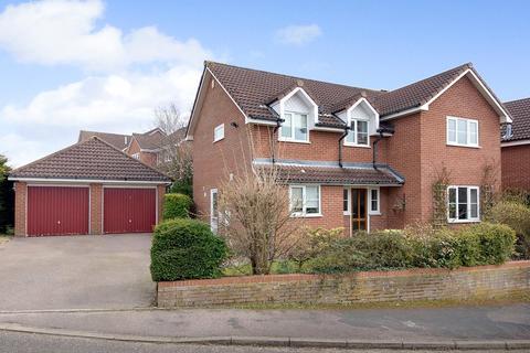 4 bedroom detached house for sale - Fiveacres, Stoke Holy Cross, Norwich, Norfolk, NR14