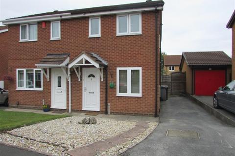 2 bedroom semi-detached house to rent - Cryersoak Close, Monkspath, B90 4UW