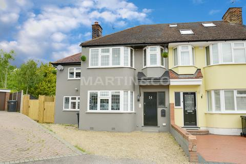 4 bedroom end of terrace house for sale - Willow Close, Buckhurst Hill