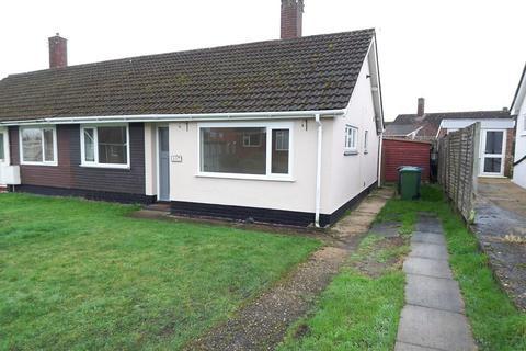 2 bedroom semi-detached bungalow to rent - Bedingfield Crescent, Halesworth