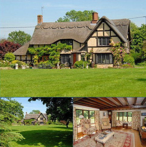 3 bedroom detached house for sale - Manor Road, Wickhamford, Worcestershire, WR11
