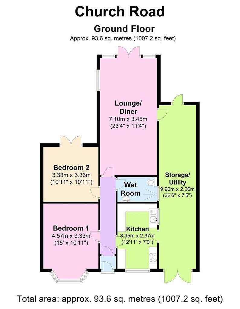 Floorplan: 92 Church Rd   Floorplan.JPG