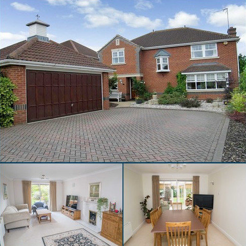4 bedroom detached house to rent - St. Andrews Gardens, Cobham, KT11