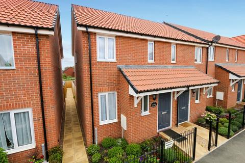2 bedroom end of terrace house for sale - Myrtlebury Way, Exeter