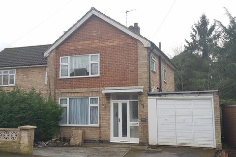 3 bedroom semi-detached house for sale - Waldron Drive, Oadby, Leicester, LE2