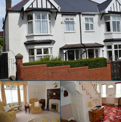 3 bedroom semi-detached house for sale - Glanmor Park Road, Swansea, SA2