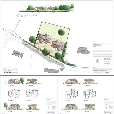 Plot for sale - Yew Tree Farm, Charing Heath Road, Charing, Ashford